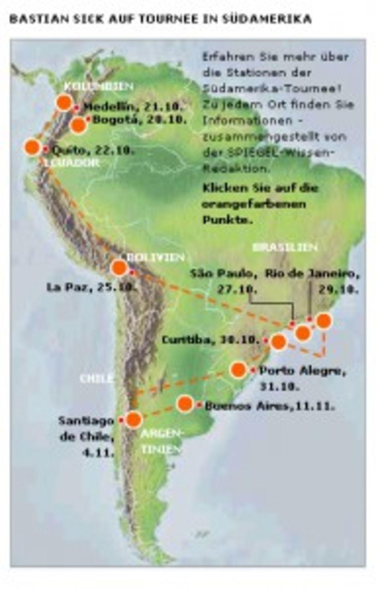 Sudamerika-Tournee