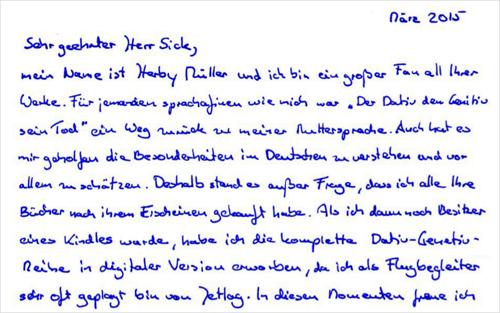 """Post aus München"""""""