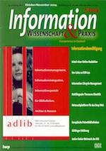 2004-10_Information_Wissenschaft_und_Praxis_Cover