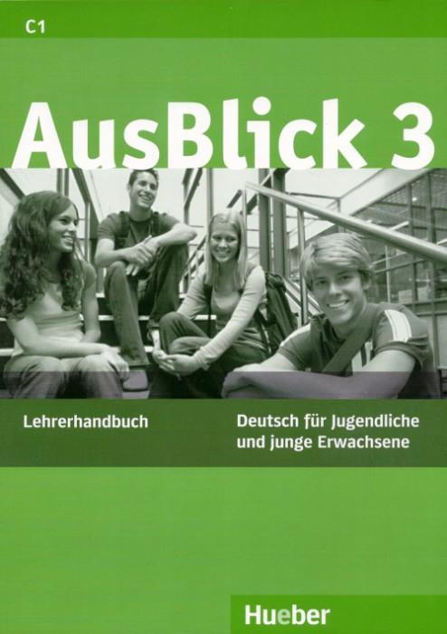 2012_Hueber_Ausblick3_Lehrerhandbuch_Cover