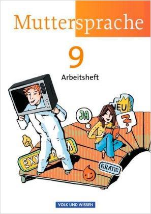 2013-03_Volk_und_Wissen_Muttersprache_9_Arbeitsheft_Cover