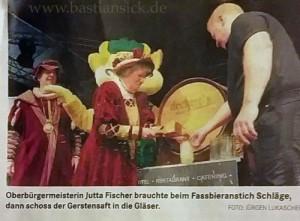 Oberbürgermeisterin braucht Schläge - Mitteldeutsche Zeitung vom 18.9.2015 von Christina Liebert_WZ_qwmo6IqF_f