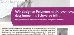 Wir designen mit Know-how, dass immer ins Schwarze trifft_WZ (Werbeanzeige von Evonik) von Ralf Heiligtag 15.06.2015_LSB8SOVd_f
