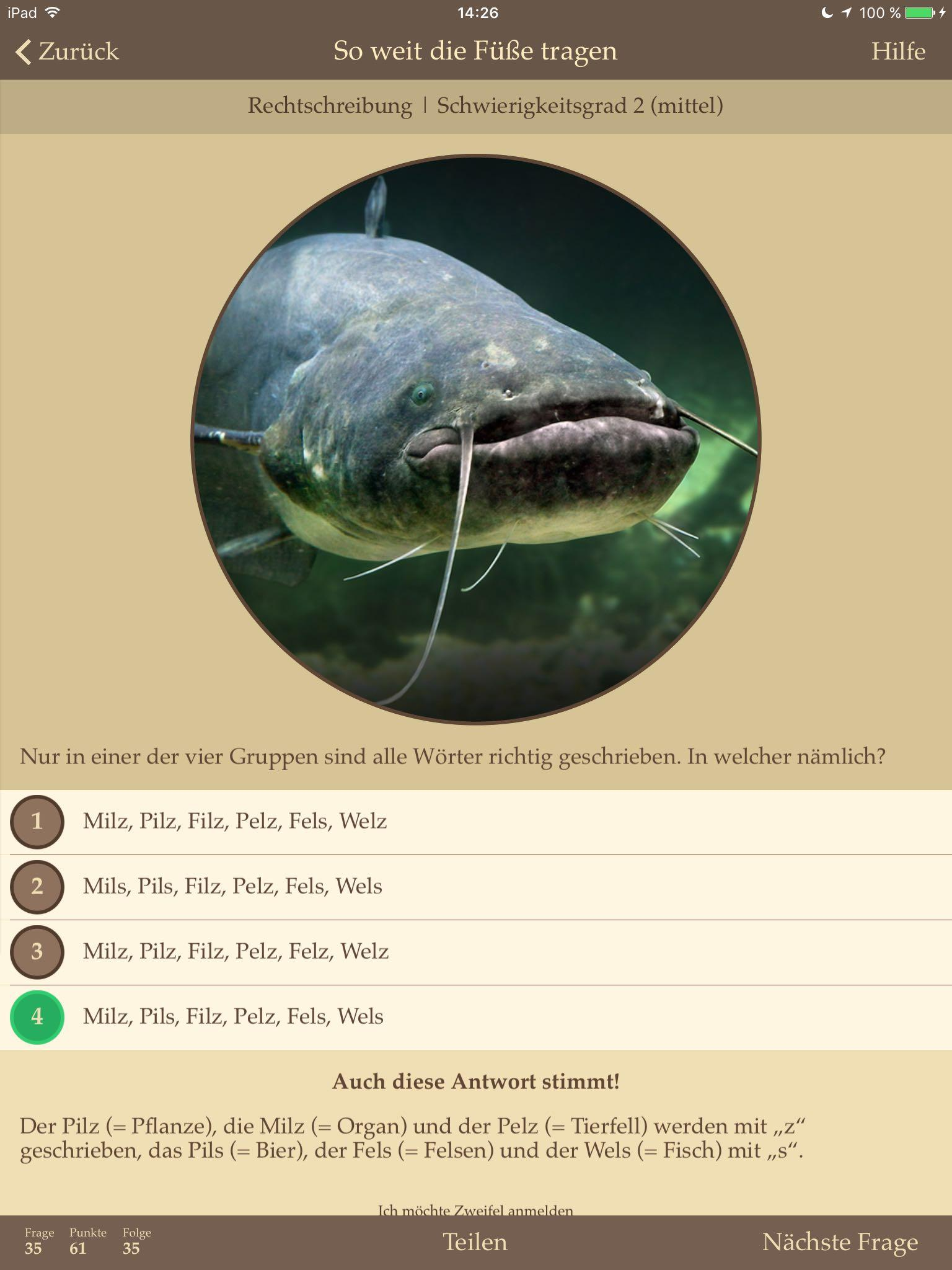 viel Fisch im Dativ