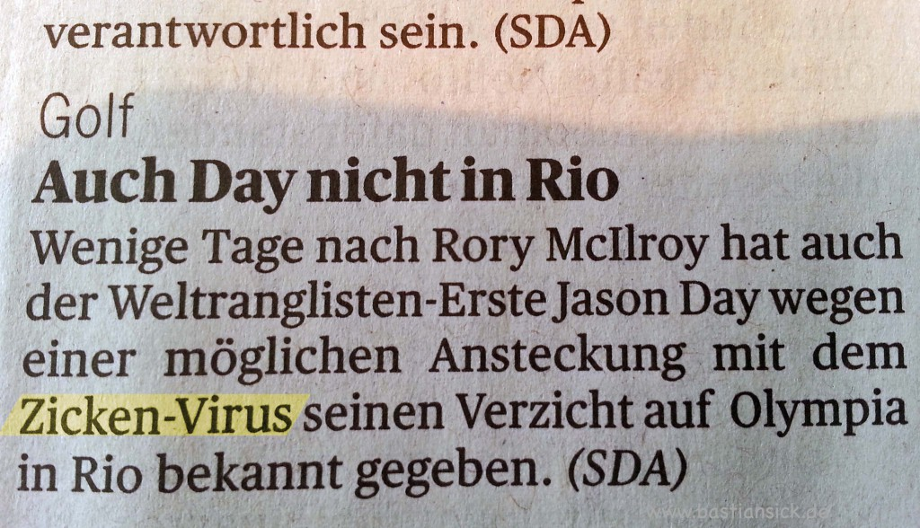 Zicken-Virus Tagesanzeiger Zürich, 29.6.2016 © Claudia Schumacher 29.6.2016_WZ