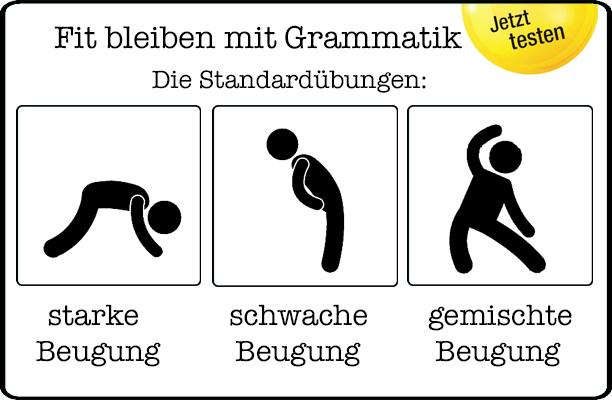 Fit bleiben mit Grammatik (c) Bastian Sick 2016
