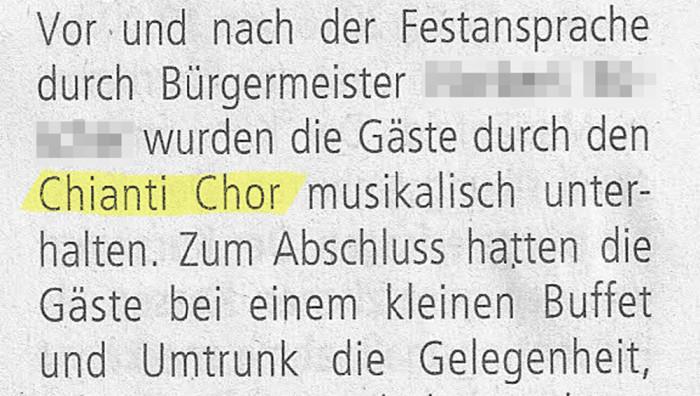 Chianti Chor