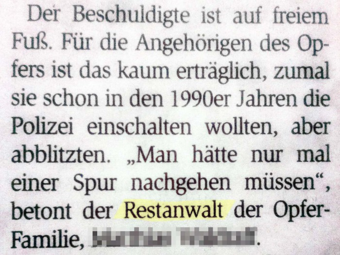 Restanwalt (Wiesbadener Kurier 8.12.2016) (c) Conny Busch_bearbeitet