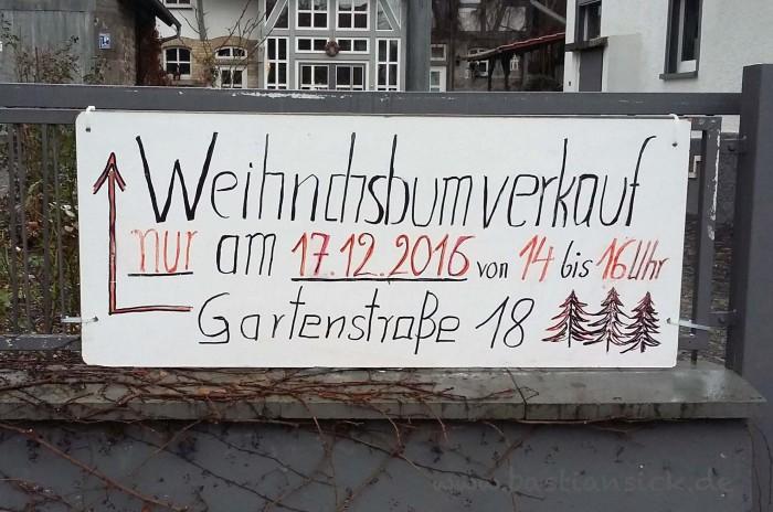 Weihnachtsbumverkauf (reiskirchen, Hessen) © Julia Balser 11.12.2016_WZ