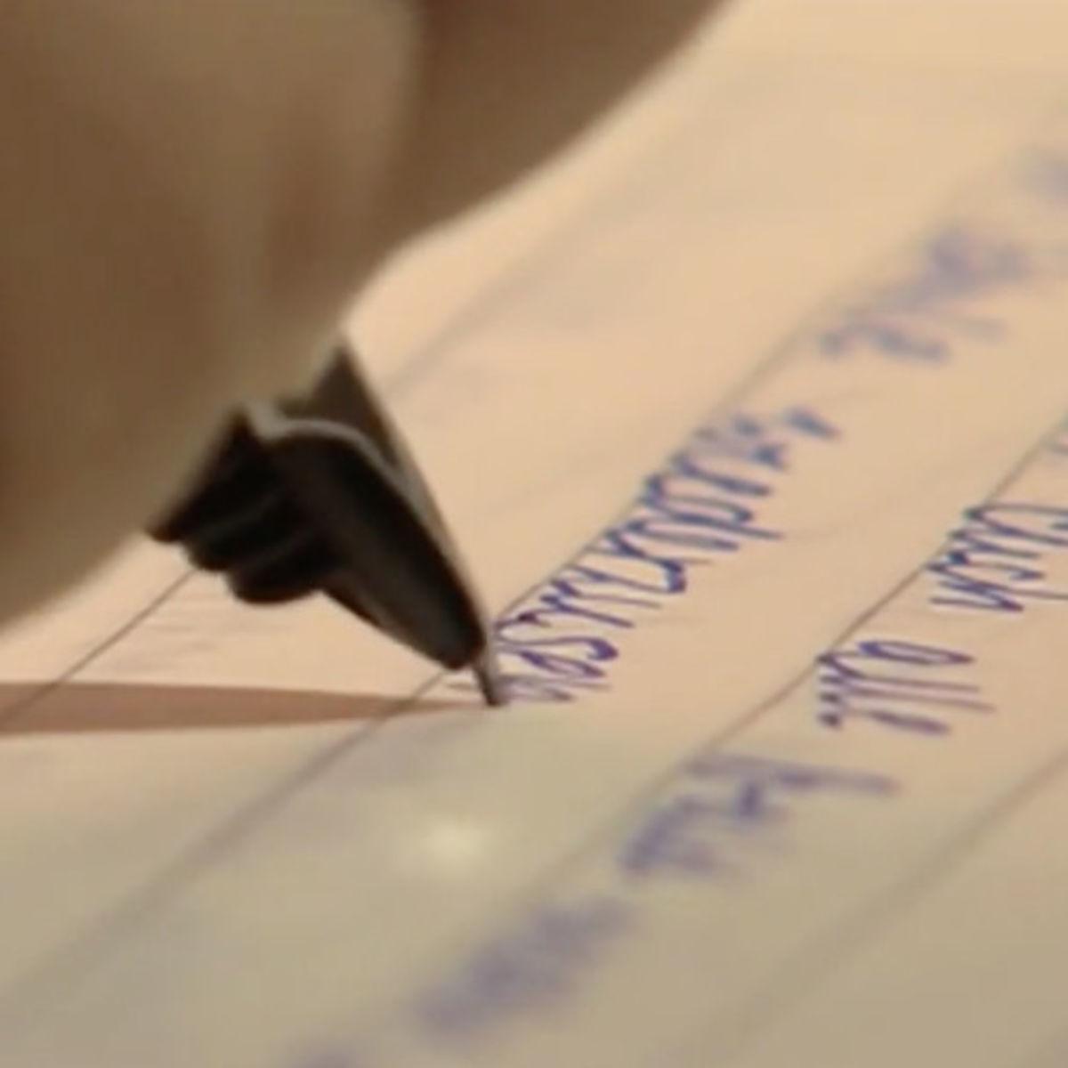 Symbolbild Schreibschrift