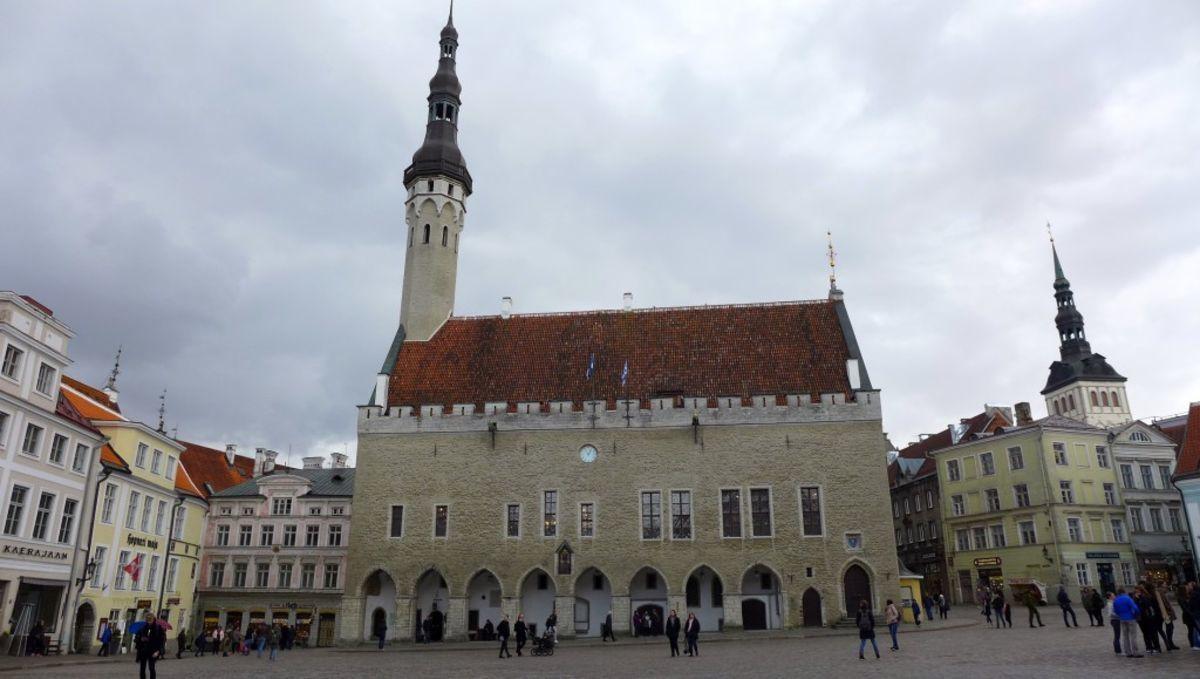 Tallinn, das gotische Rathaus