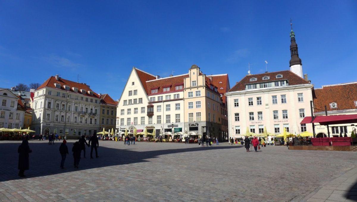 Tallinn, Marktplatz