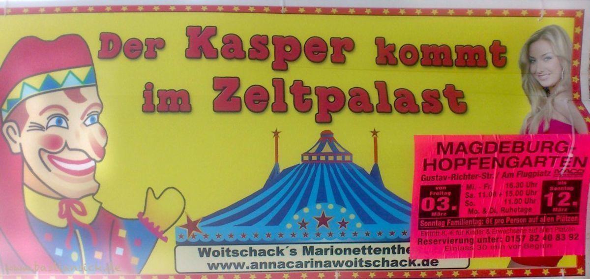 Der Kasper kommt im Zeltpark (Magedeburg) Christine Meinhard 1.7.2017_WZ